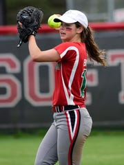 Oak Harbor's Emma Bergman will play the outfield at Ohio Dominican.