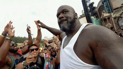 """""""Shaq Life"""" (9 p.m. and 9:30 p.m., TNT) debuts, following the four-time NBA champion, Shaquille O'Neal, as he tries to expand his presence and """"brand"""" to new ventures."""