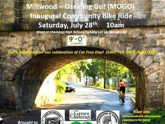 Ossining community bike ride