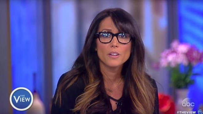 "In a guest appearance Friday on ABC's ""The View,"" Leeann Tweeden read a letter she received from Sen. Al Franken."