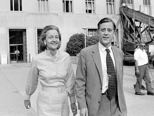 Katharine Graham, publisher of the Washington Post,