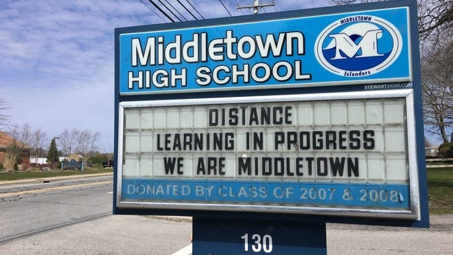 Middletown High School is reverting to distance learning after identifying four cases of COVID-19 this week.
