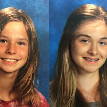 Anoka County authorities are looking for two 13-year-