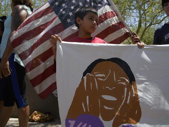 Protesta de inmigración