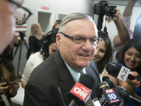 Sheriff Joe Arpaio primary election night
