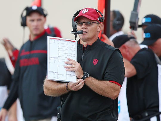 Tom Allen's new 4-2-5 scheme has added some unpredictability to IU's defense.