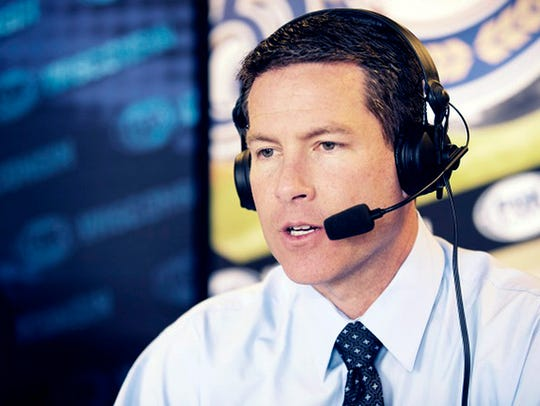 Milwaukee Brewers announcer Brian Anderson has been