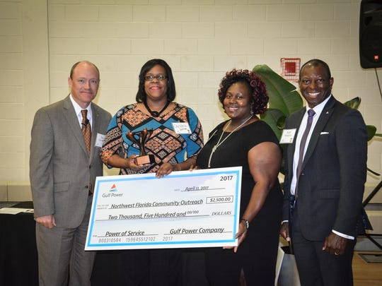 Northwest Florida Community Outreach is one of three local organizations honored by this year's Power of Service awards from Gulf Power Company.