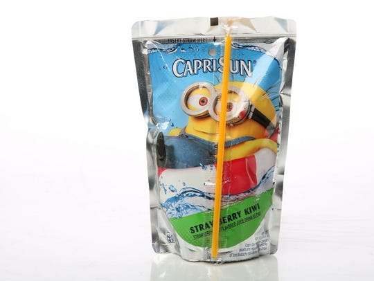 A CapriSun for back-to-school. Photographed at the