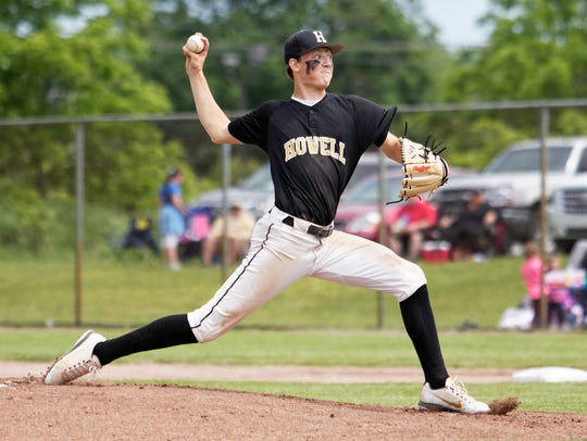 Howell's Luke Russo pitched five straight shutout innings