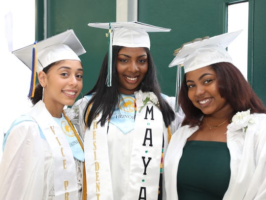 Woodlands High School holds their graduation ceremony