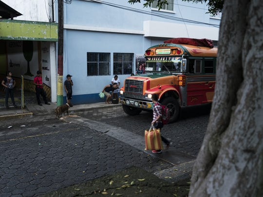 Lourdes Marianela De Leon and her 6-year-old son, Leo, took a bus from their home in San Pablo, Guatemala, to the Mexico border.