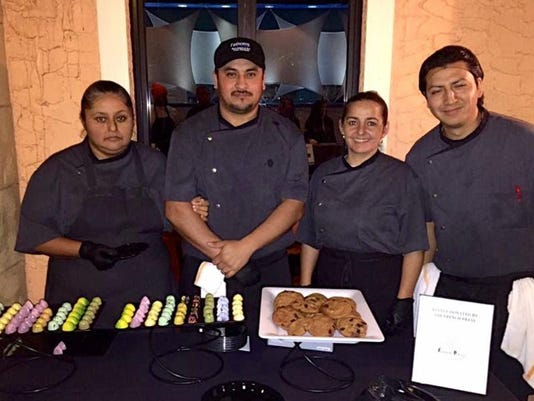 Fathoms culinary team hard at work!
