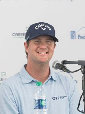 2017 CareerBuilder Challenge Champion Hudson Swafford is photographed at PGA West on Tuesday January 16, 2018.