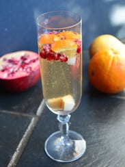 Winter Sangria is an easy and festive drink for the