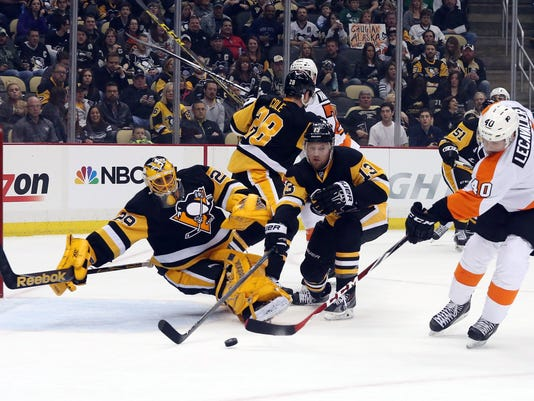 NHL: Philadelphia Flyers at Pittsburgh Penguins