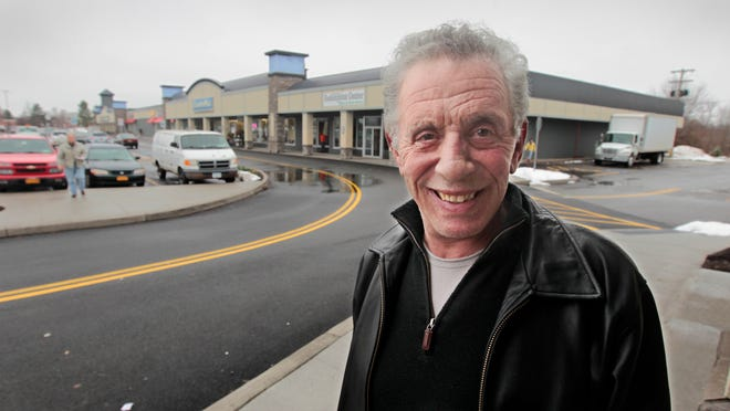 Developer Richard Chiarenza at the Suburban Plaza in Henrietta. Chiarenza has spent nearly $5 million buying and renovating the plaza.