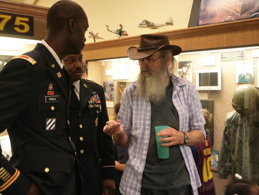 si robertson at chennault aviation and military museum 6/14/13