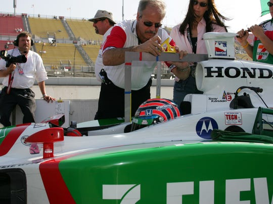 After one session of practice at Texas Motor Speedway in 2001, drivers feeling ill flocked to Dr. Terry Trammell, then the CART director of medical services.