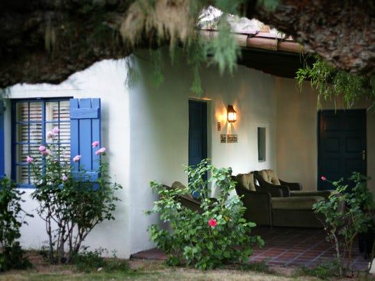 The casita in the La Quinta Resort & Club where director