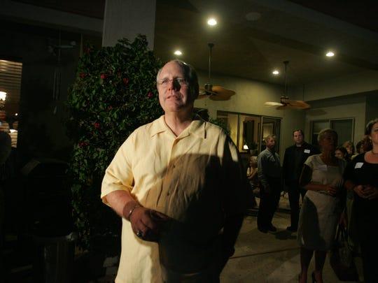 Pictured on June 8, 2010, Riverside County Supervisor