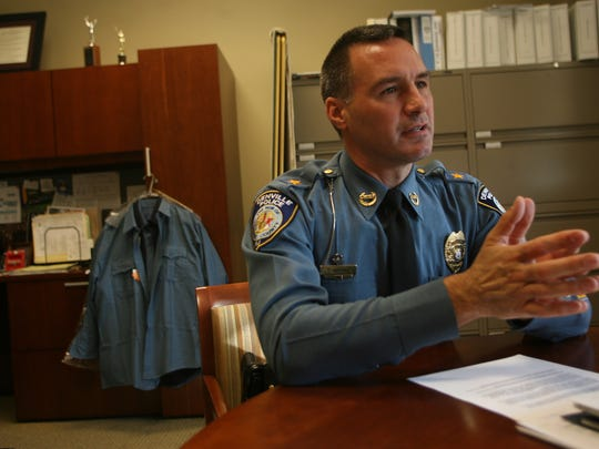 Denville Police Chief Christopher Wagner