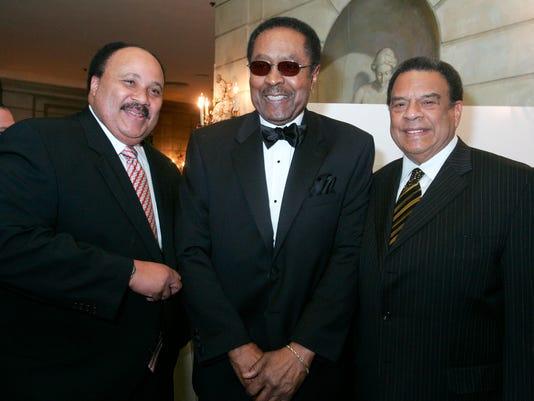 JONES MARTIN LUTHER KING III ANDREW YOUNG