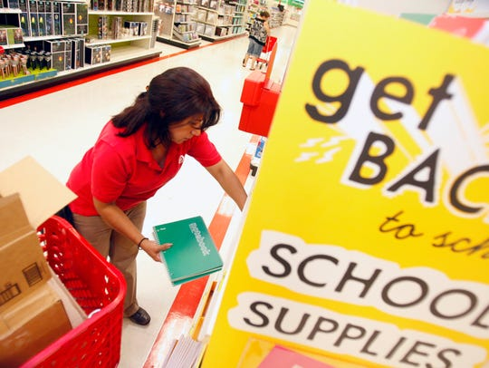 This year's sales tax holiday is Friday, Aug. 11 through