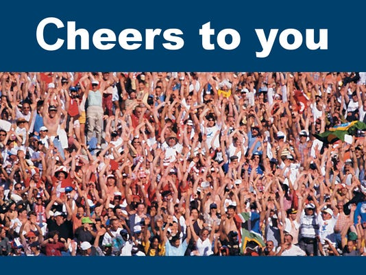 Our Cheers to You