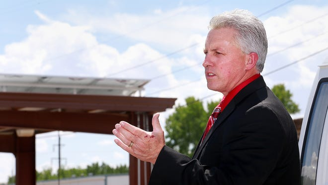 The contract of Aztec Superintendent Kirk Carpenter was extended into 2019 last week by the school board.