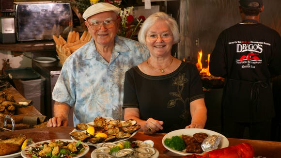 Drago and his wife Klara Cvitanovich opened Drago's Seafood Restaurant about 50 years ago. Drago died earlier this year, but Klara remains active in the family business.