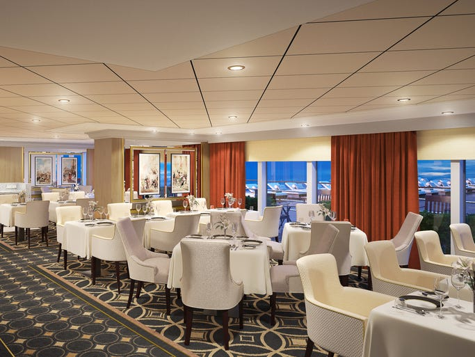 First look cunard 39 s queen mary 2 gets a makeover for 10 overlook terrace