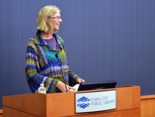 Author Jane Smiley, who studied in Iowa City in the