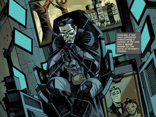 Bruce Wayne has a lot to think about in the first issue