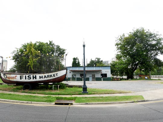 The Dupont Fish Market has been closed because of health