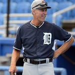 Detroit Tigers special assistant Alan Trammell during a spring training game against the Toronto Blue Jays at Florida Auto Exchange Park in March.