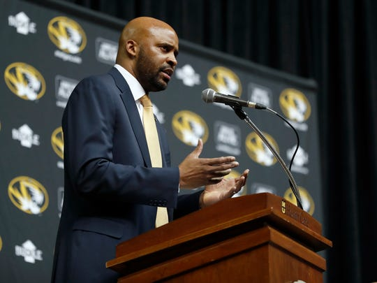 Cuonzo Martin speaks after being formally introduced