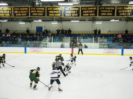 BFA St. Albans vs. Essex Boys Hockey 12/21/16