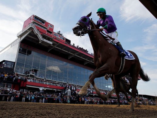 Chrome wins Preakness