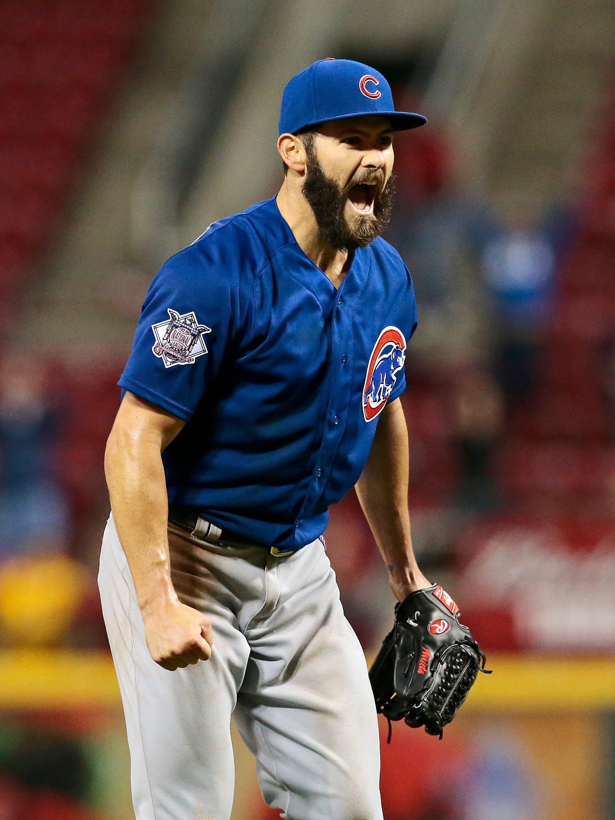 Jake Arrieta Chicago Cubs Baseball Player Jersey