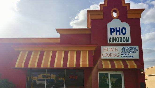 Pho Kingdom took over the former Reuben's Smokehouse space in  January.