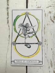 Libra (9/23-10/22) // Three of Pentacles Gather your