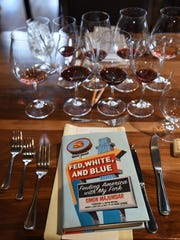 "Food Network Star Simon Majumdar, author of ""Fed, White and Blue,"" was a special guest judge for the Chef Cook-off June 23 at Willamette Valley Vineyards."