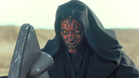 """As played by Ray Park in """"The Phantom Menace,"""" Darth"""
