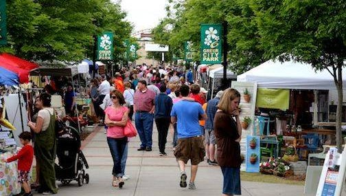 Greer's Vintage Market at the Park will celebrate its fifth year Oct. 17.