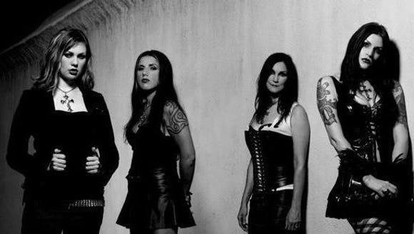 The all-female Black Sabbath tribute band Mistress