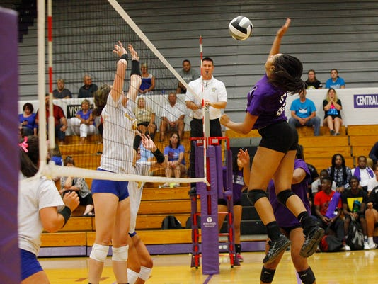 Central-Burris Volleyball
