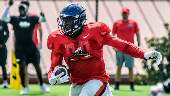 Receiver A.J. Brown has the talent to line up anywhere and have an impact, which is why Ole Miss wants him to take advantages of mismatches in the slot.