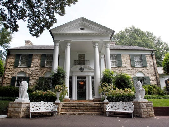 Graceland, Elvis Presley's home in Memphis.