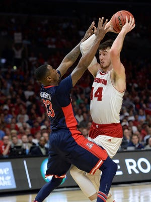 Could the Suns end up taking Wisconsin's Frank Kaminsky at No. 13?